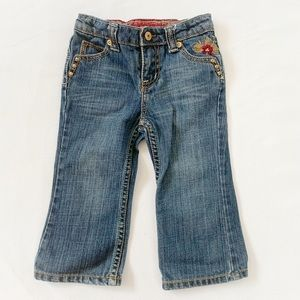 ★ GUESS JEANS | FLORAL EMBROIDERED